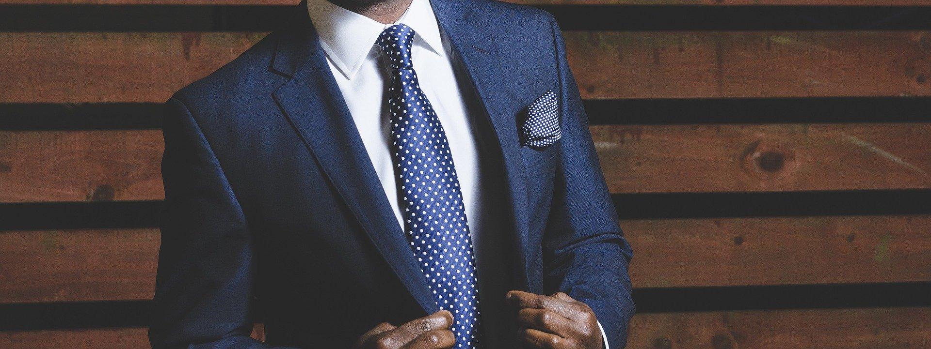 Finance Director in suit